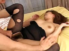 Monami Sakura massive big tits in hot screwing action