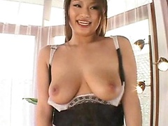 Bursting Big Breasts Gal