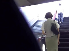 Japanese Girl Piss On Street