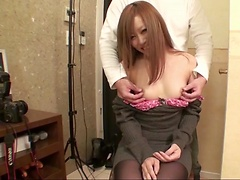 Nana Kawase getting horny during top asian porn