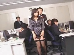 Satomi Maeno Crowded With Cock