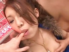 Misaki Asou hottest Asian threesome sex here