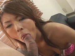 Yuuna Momose has pussy eaten and is then fucked