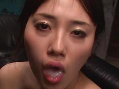 Oliy babe Azusa Nagasawa having an intense solo