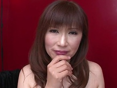 Wild deepthroat action performed well by Reiko Shimura