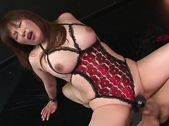 Reiko Shimura gets her moist twat teased and fucked