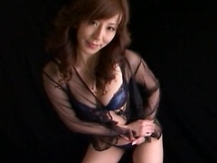 Honami Takasaka is a mature lady who did a lot of cock sucking in this movie.