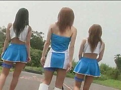 Semen Race Queens Playing with Cum