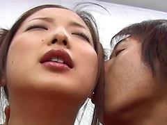 Bewitching honey Katsumi Matsumura enjoys sensual fucking scene