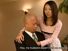 Yui Asao loves being screwed long and hard