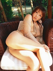 Beautifully stacked asian babe with big busty tits in a bikini - Japarn porn pics at JapHole.com