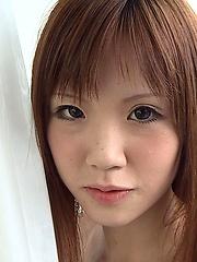 Slim redhead japanese teen girl posing - Japarn porn pics at JapHole.com