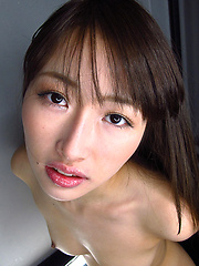 Aoki Mana showing her deep japanese mouth - Japarn porn pics at JapHole.com