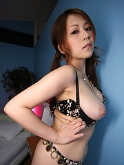 Sexy Asian Yuki Aida nailed by a big cock - Japarn porn pics at JapHole.com