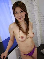 Japanese Hiyori Konno gives amazing blowjob - Japarn porn pics at JapHole.com