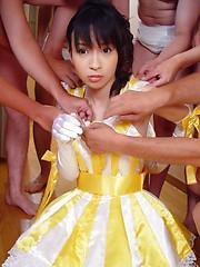 Japanese teen bukkake porn - Japarn porn pics at JapHole.com