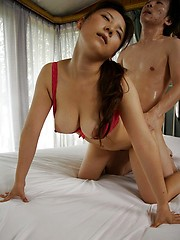 Busty Momo Aizawa fucked n gets cum in mouth - Japarn porn pics at JapHole.com