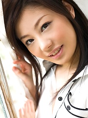 Takami Hou lovely Asian teen is sexy and cute in lingerie - Japarn porn pics at JapHole.com