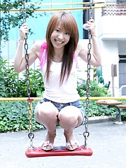Asian model Yuuna is a lovely fuckable Japanese doll - Japarn porn pics at JapHole.com
