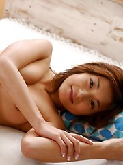 Naughty Japanese tramp strips slowly to show naked pussy off - Japarn porn pics at JapHole.com