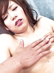 Keito Miyazawa Asian with legs in ropes gets vibrators in crack - Japarn porn pics at JapHole.com
