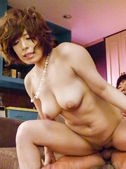 Ririsu Ayaka Asian has clit rubbed and gets hard penis on assets - Japarn porn pics at JapHole.com