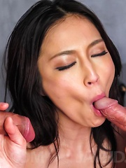 Sera Ichijo Asian has tits sucked and is fucked in double teaming - Japarn porn pics at JapHole.com