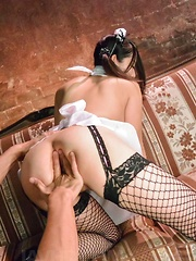 Anna Mihashi Asian in uniform has cunt fingered and screwed a lot - Japarn porn pics at JapHole.com