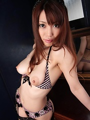 Hottie Kaede Kyoumoto getting nice and naked