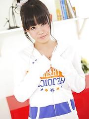 Naked japanese schoolgirl Hiromi Koga