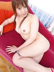 Appetizing hottie from Japan Haruna Ikeura - Japarn porn pics at JapHole.com