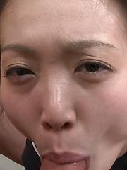 Young asian suck cocks for facial cumshot - Japarn porn pics at JapHole.com
