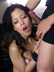 Take it deeper, japanese slut - Japarn porn pics at JapHole.com