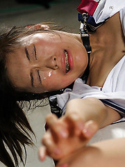 Bounded japanese slut takes it deep - Japarn porn pics at JapHole.com