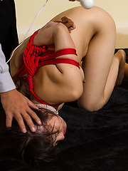 Two bondaged japanese girls face fuck - Japarn porn pics at JapHole.com