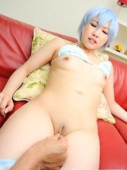 Sexy japanese model Miku Aono roleplay - Japarn porn pics at JapHole.com