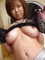 Busty asian babe in sexy lingerie. - Japarn porn pics at JapHole.com