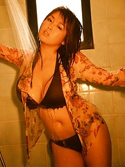 Big-titted japanese woman Harada Orei - Japarn porn pics at JapHole.com