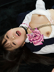 Cute japanese girl takes it deep and rough - Japarn porn pics at JapHole.com