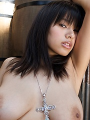 Great asian big tits model Hana Haruna in hot scenario. - Japarn porn pics at JapHole.com