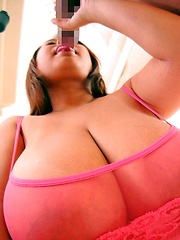 Fuko hardcore action with her gigantic tits bouncing! - Japarn porn pics at JapHole.com