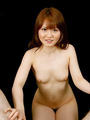 Redhead japanese Sakamoto Hikari handjob - Japarn porn pics at JapHole.com