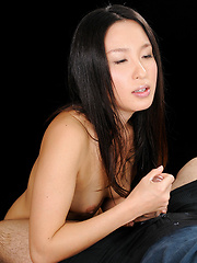 Anna Sakura doing handjob for lucky guy - Japarn porn pics at JapHole.com