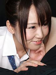 Innocent japanese babe Mizushima Ai