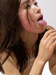 Cum hungry japanese girl Yamada Reika - Japarn porn pics at JapHole.com