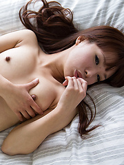 Sexy brown-haired japanese girl Itou Mayu - Japarn porn pics at JapHole.com