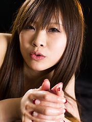 Japanese girl Arisaka Mio - Japarn porn pics at JapHole.com