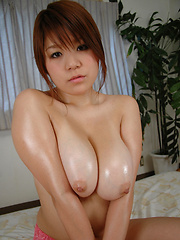 Big-breasted japanese girl Kurara - Japarn porn pics at JapHole.com