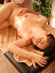 Massage and toy masturbation