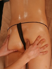 Oiled massage for japanese girl - Japarn porn pics at JapHole.com